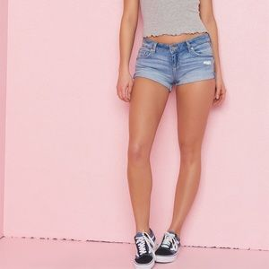 Garage Flirty Short Jean Shorts
